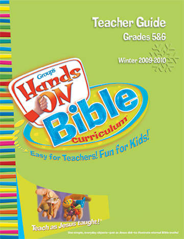 Picture of Group's Hands On Bible Curriculum Grades 5 & 6 Teacher Guide Winter 2009-2010