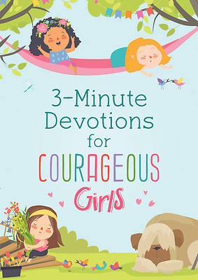 Picture of 3-Minute Devotions for Courageous Girls