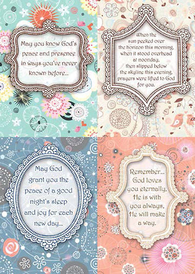 Picture of Caring Expressions - Praying for You Boxed Cards - Box of 12