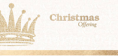 King Crown Christmas Offering Envelope