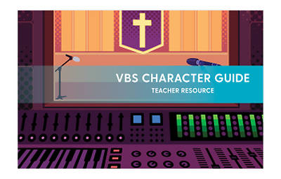 Picture of Vacation Bible School VBS 2021 A New Song The Message in Our Music Character Guide