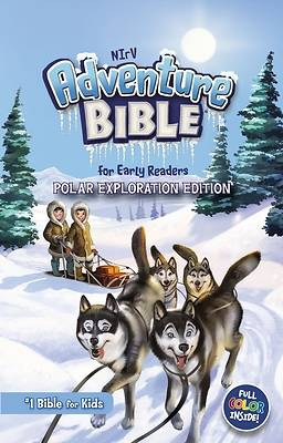 Picture of NIrV Adventure Bible for Early Readers, Polar Exploration Edition, Hardcover, Full Color