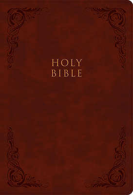 Picture of KJV Super Giant Print Reference Bible, Burgundy Leathertouch
