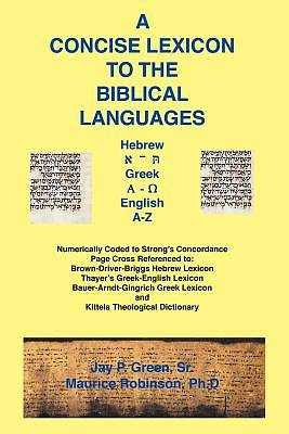 Picture of Concise Lexicon to the Biblical Languages