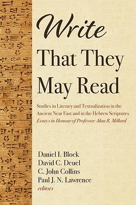 Picture of Write That They May Read