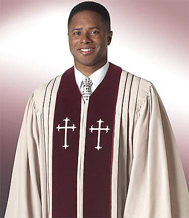 Murphy Qwick-Ship Bishop H-7 Pulpit Robe