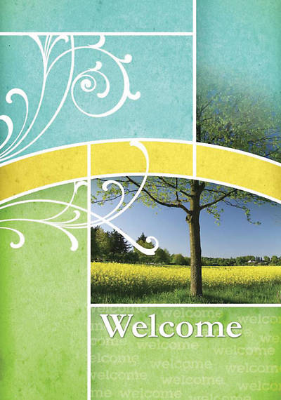 Philippians 4:4 Welcome Folder (Package of 12)