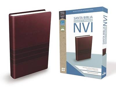 Picture of Santa Biblia de Premio y Regalo Nvi, Leathersoft, Café