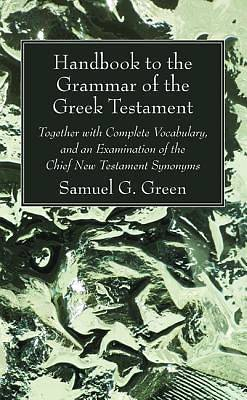 Picture of Handbook to the Grammar of the Greek Testament