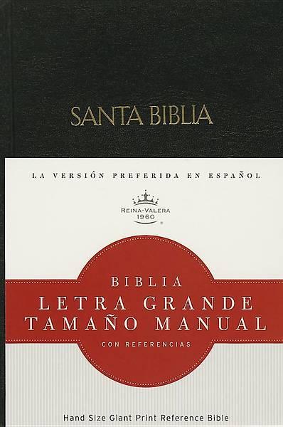 Picture of Rvr 1960 Biblia Letra Grande Tamano Manual, Negro Tapa Dura