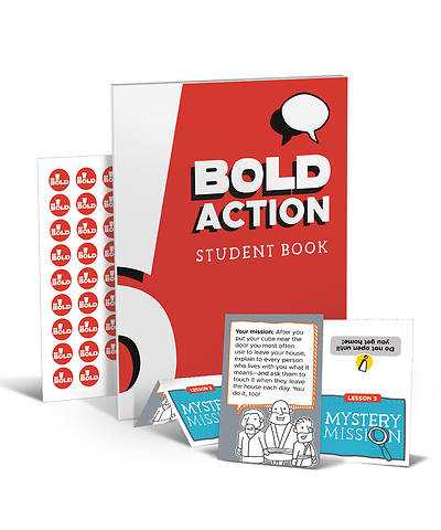 Picture of Be Bold Fearless Preteen Student Pack Spring 2020