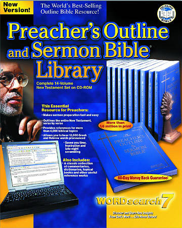WORDsearch 7.0 Preachers Outline and Sermon Bible NT