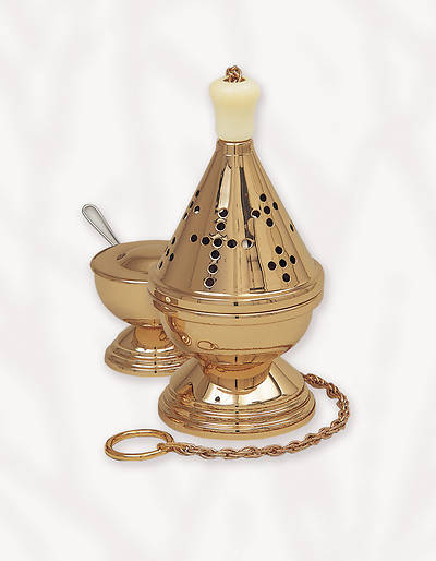 Gold Plated Censer and Boat