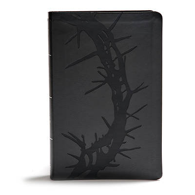 Picture of KJV Giant Print Reference Bible, Charcoal Leathertouch