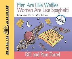 Picture of Men Are Like Waffles Women Are Like Spaghetti