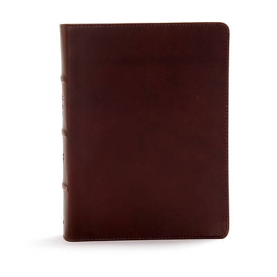 Picture of CSB Study Bible, Black Genuine Leather, Indexed
