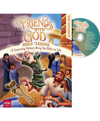 Picture of Friends with God Bible Lessons (New Testament)