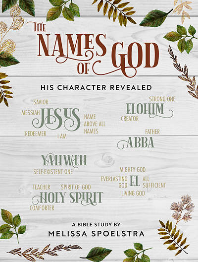 Picture of The Names of God - Women's Bible Study Participant Workbook