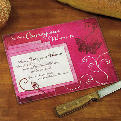 Courageous Woman Mini Cutting Board