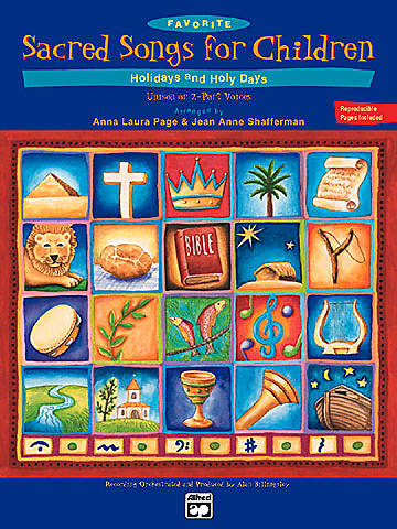 Favorite Sacred Songs for Children Songbook