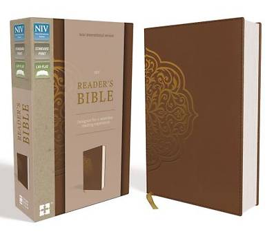 NIV, Readers Bible, Imitation Leather, Brown