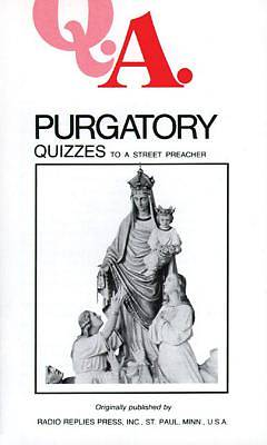 Picture of Purgatory Quizzes to a Street Preacher