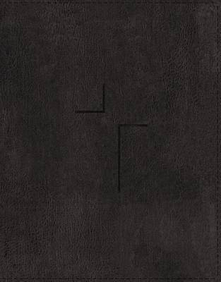 Picture of The Jesus Bible, ESV Edition, Leathersoft, Black, Indexed