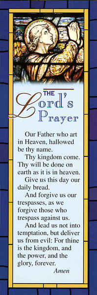 Picture of The Lord's Prayer Bookmark (Pkg of 25)