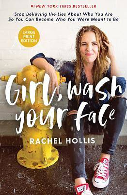 Picture of Girl, Wash Your Face Large Print Edition