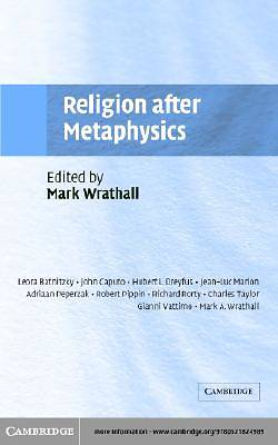 Religion after Metaphysics [Adobe Ebook]