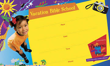 Standard Vacation Bible School 2006 Trading Places Outdoor Banner VBS