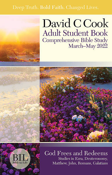 Bible-in-Life Adult Comprehensive Bible Study Student Book Spring