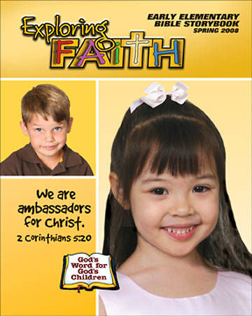 Exploring Faith Early Elementary Student Bible Storybook Spring