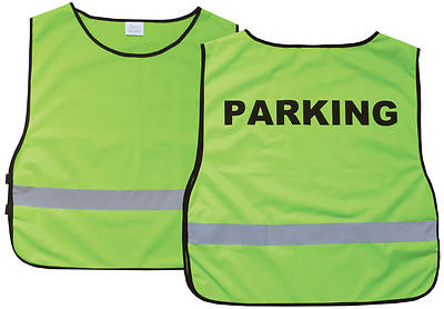 Parking Green Safety Vest