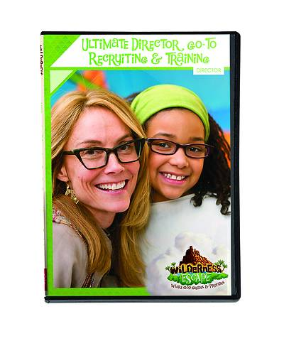 Picture of Vacation Bible School (VBS) 2020 Wilderness Escape Ultimate Director Go-To Recruiting & Training DVD
