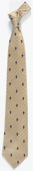 Presbyterian Church(USA) Tie 100% Woven Silk Gold