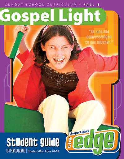 Gospel Light The Edge Student Guide Fall