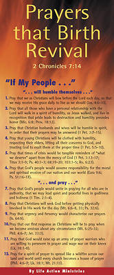 Picture of Prayers That Birth Revival 50-Pack
