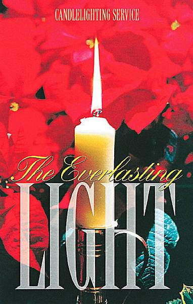 Picture of Candlelighting Bulletin with Service, Regular Size (Package of 50)