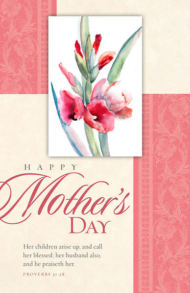 Happy Mothers Day 2018 Bulletin - Pack of 100
