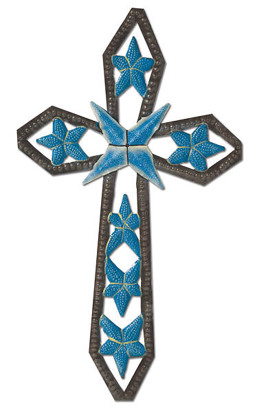Picture of Haitian Flower Cross