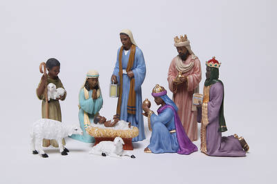 Picture of Nativity Set 9 Piece