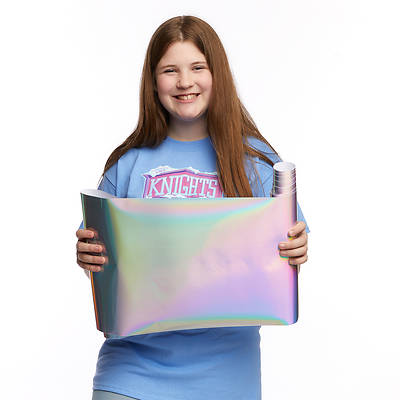 Picture of Vacation Bible School (VBS) 2020 Knights of North Castle Icy Iridescent Contact Paper
