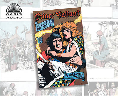 Picture of Prince Valiant and the Golden Princess (Library Edition)