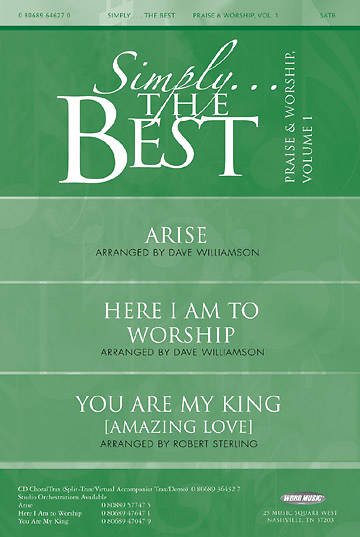 Simply...The Best - Praise & Worship Volume 1 Booklet