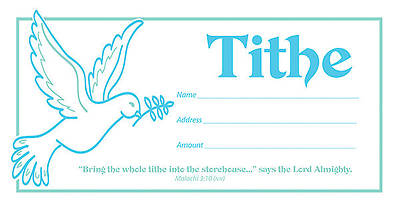 Picture of Tithe Offering Envelope - Package of 100