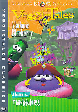 Veggie Tales Madame Blueberry DVD