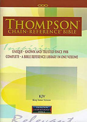 Picture of Thompson Chain-Reference Bible-KJV