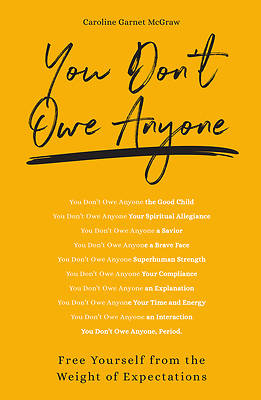 Picture of You Don't Owe Anyone
