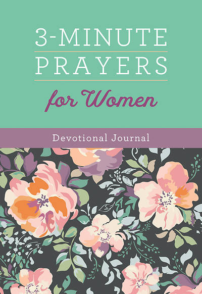 Picture of 3-Minute Prayers for Women Devotional Journal